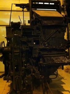 Printing Machine by Ilana Cohen Panner