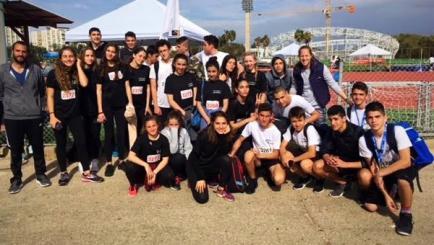 תחרות אתלטיקה של מחוז תל אביב באצטדיון הדר יוסף