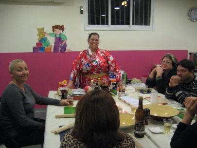 סדנת הסושי האירגונית לצוות אחיות ביח